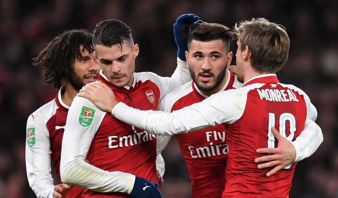 Arsenal, Man C In League Cup Final