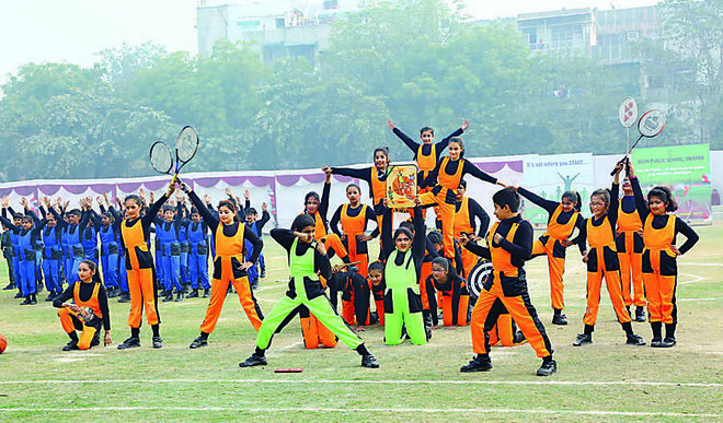 DPS School, Dwarka Organise Sports Carnival