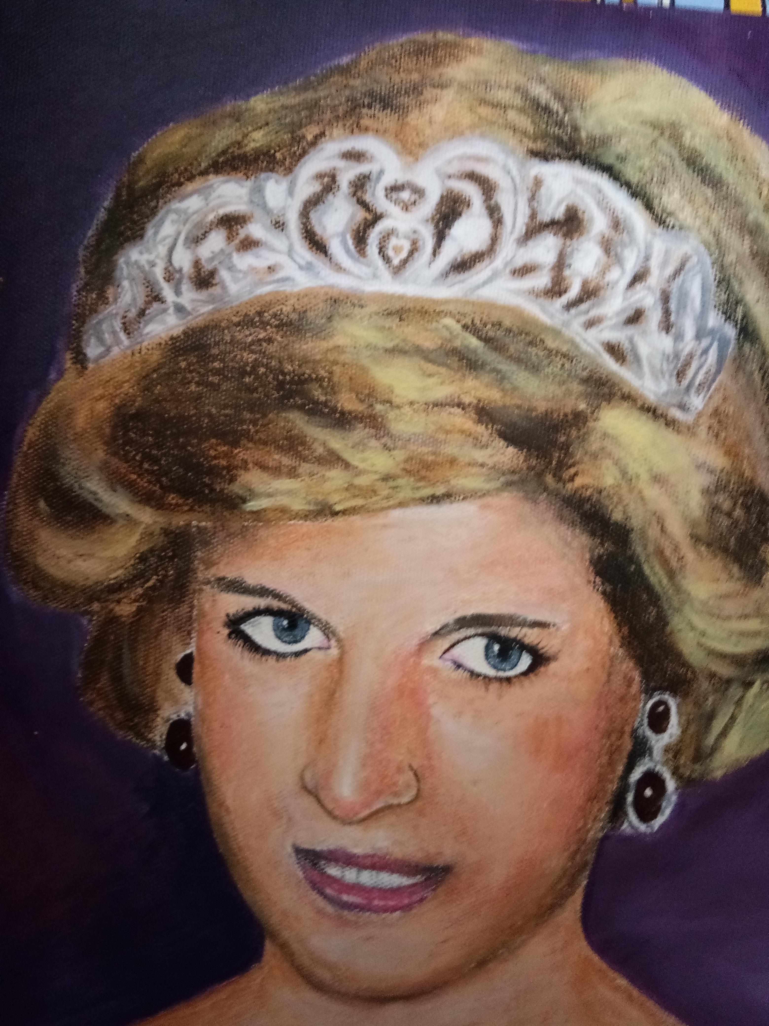 Asmita's Portrait Of Lady Diana