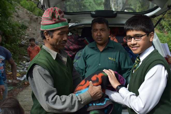 Young Boys Aim To Serve The Society