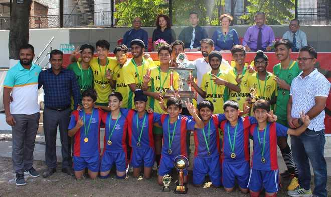 St Xavier's, Saupin's Lift Soccer Titles