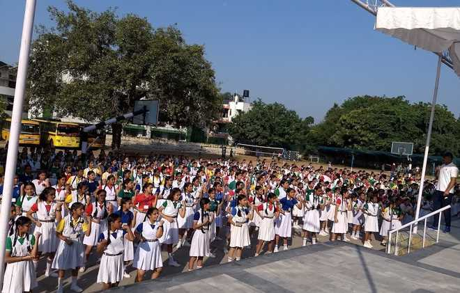 Weeklong Self-defence Training For Girl Students
