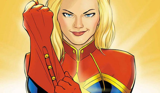 Coming Soon: New 'Captain Marvel' Comic Book Series