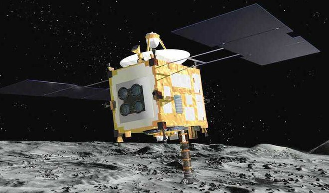 Japan Space Probe Lands Robot On Asteroid
