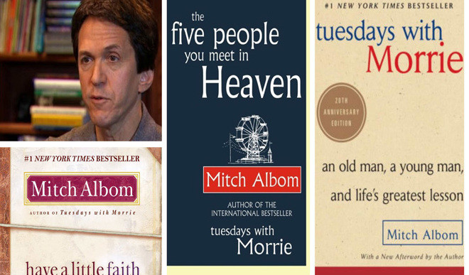 Learn About Mitch Albom's Latest