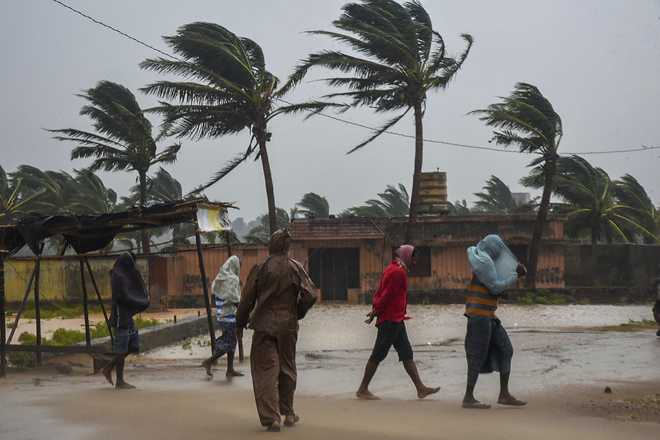 Cyclone Titli Crosses Odisha, Andhra: Home Ministry