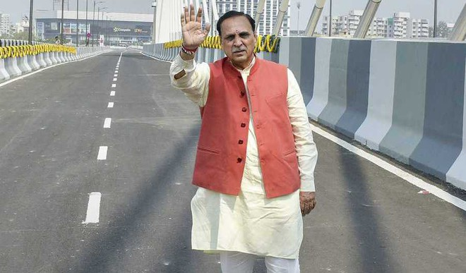 Sack Rupani, Impose President's Rule In Gujarat: Cong to Centre