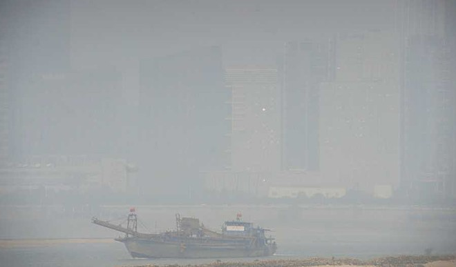 Why Beijing's Smog Looks Like This