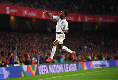 Sterling Shines As England Beat Spain