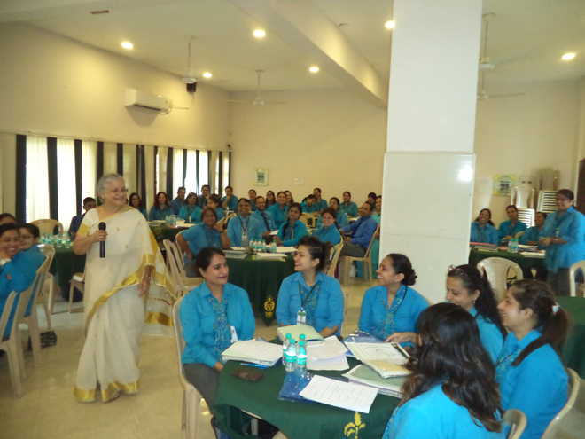 Satluj Hosts Teachers' Seminar