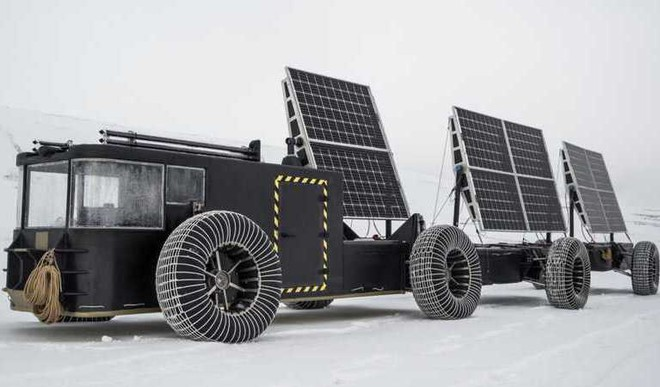 This Solar Powered Vehicle Is Made Of Waste