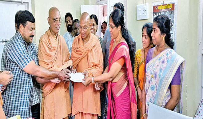 Rs 3 lakh more contributed for flood-hit
