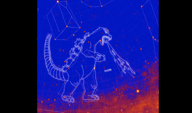 Godzilla In Space: New Constellation After The Fictional Lizard