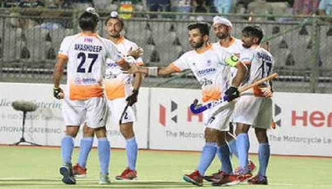 India beat Korea 4-1 To Keep Top Spot