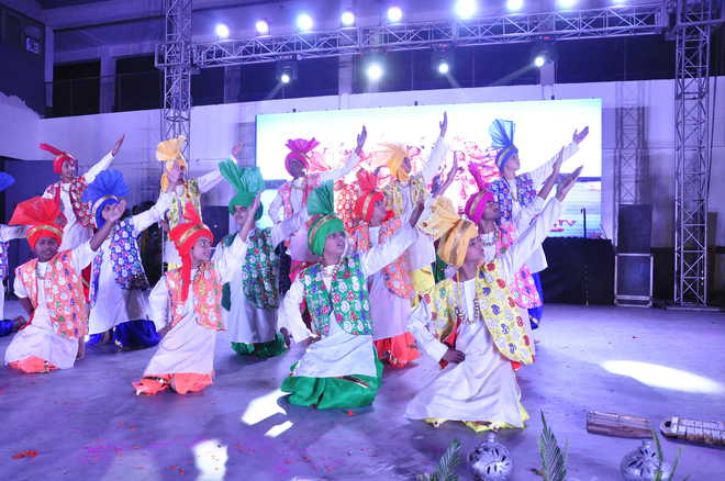Amravati Vidyalaya Holds Annual Function