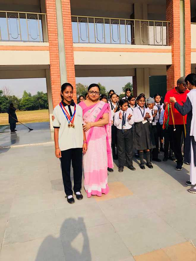 Jasleen Bags Bronze In State Level Event
