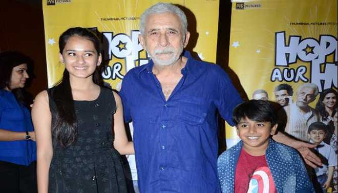 Actor Naseeruddin Shah Believes Cinema Serves As A Record Of The Times And He Would Not Want The Audience To Look Back At 2018 As The Phase Of Only Song And Dance Cinema. Your Views?