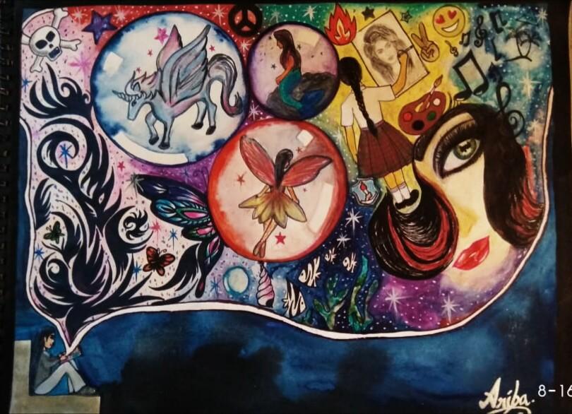 Ariba's Self Expression Through Art