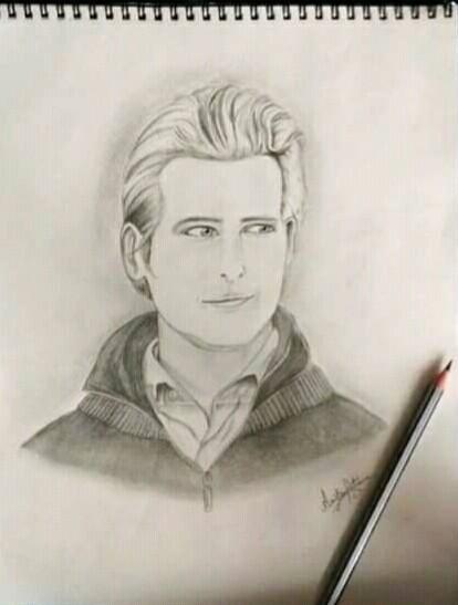 Ariba's Portrait of Carlisle Cullen