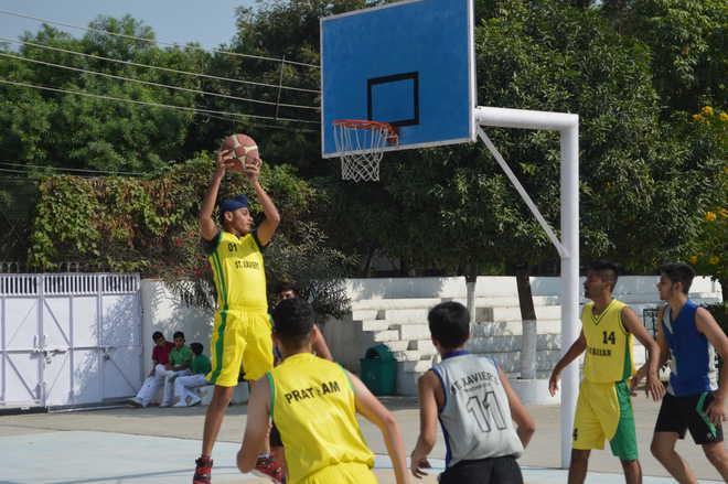 St Xavier's Basketball Meet Begins