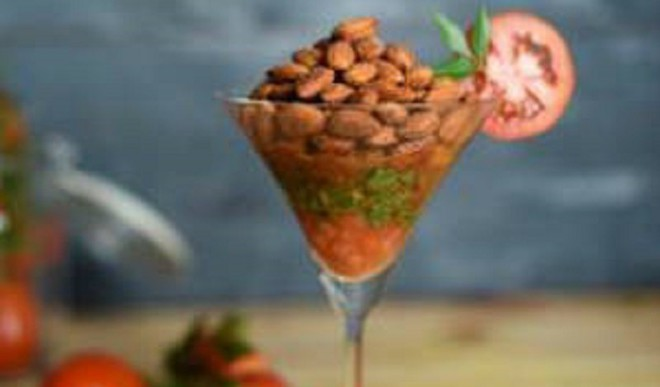 Tasty Tangy Rasam Almonds