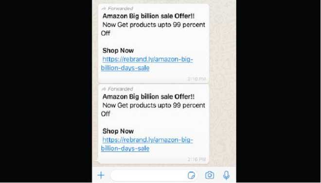 Beware Of This WhatsApp-Amazon Scam
