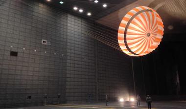 NASA's Parachute For 2020 Mars Rover Breaks Records