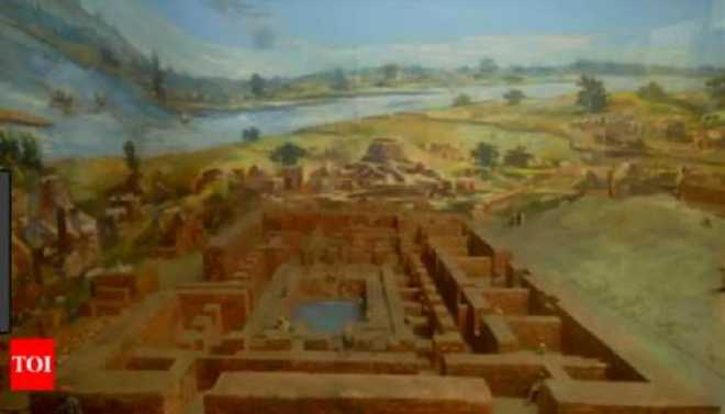 Climate Change Drove Harappans Away