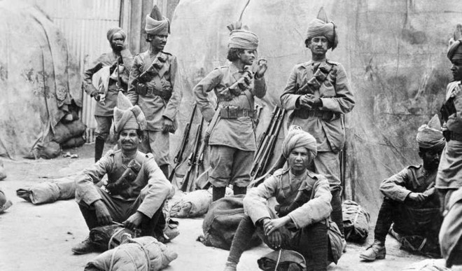 An 'Epic' On Indian Soldiers In WWI