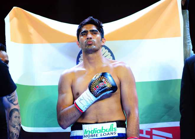 Vijender Set For US Debut Next Year
