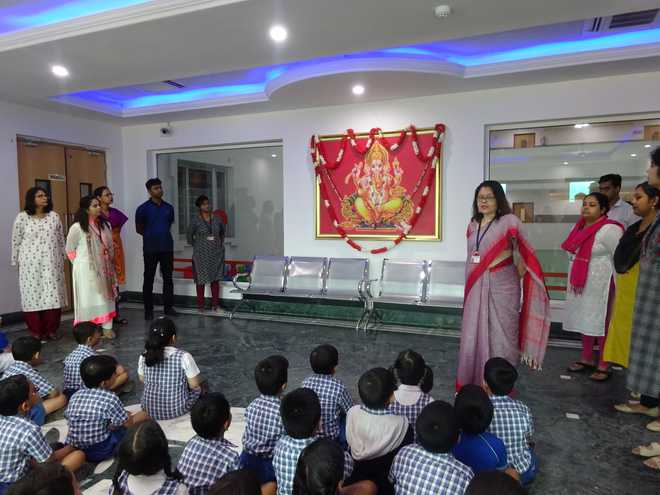 Season of festivities celebrated at Birla High School Mukundapur