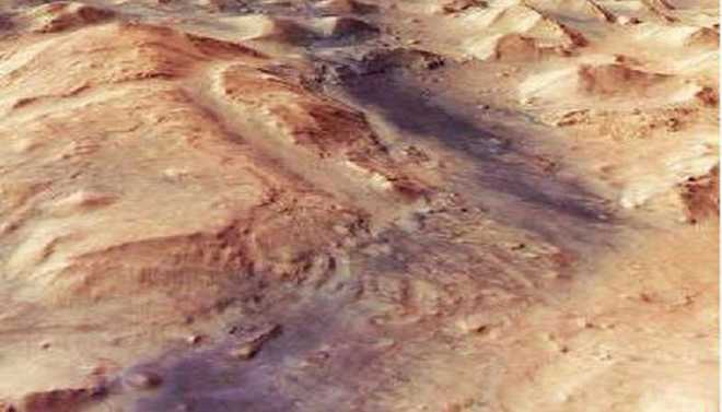 Mars Is Shaped By Water, Wind & Ice
