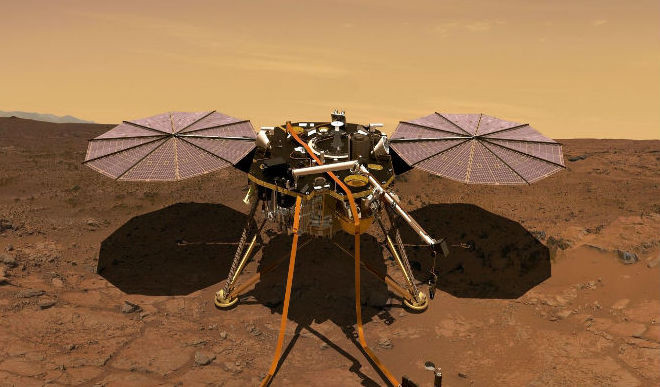 Nasa's InSight Lands On Mars 'With 1 lakh Indians'