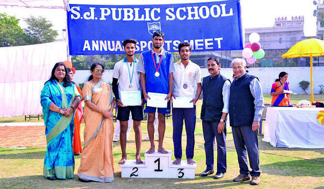 Athletes Showcase Competitive Spirit In Annual Sports Meet