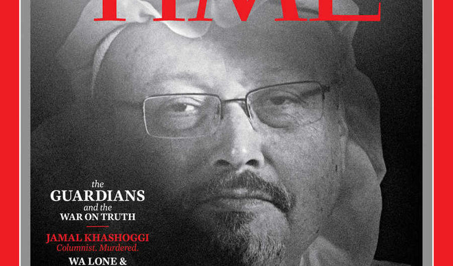 Khashoggi Is Time's 'Person Of The Year'