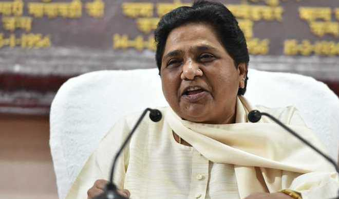 Mayawati Extends Support To Congress In MP