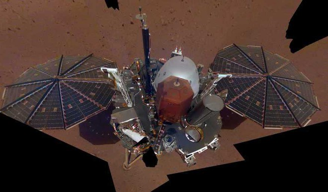 InSight Mars Lander's First Selfie On The Red Planet