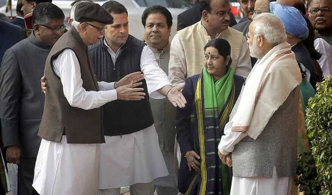 No Pleasantries Exchanged Between PM and Rahul