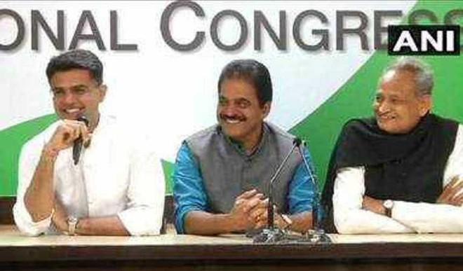 Gehlot Is CM Rajasthan; Pilot Is Deputy CM