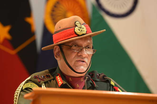 Army Chief General Bipin Rawat Said Women Are Not Ready For Combat Roles. A Woman Officer Would Feel Uncomfortable At The Frontline, And Accuse Jawans Of Peeping As She Changes Clothes, He Said.