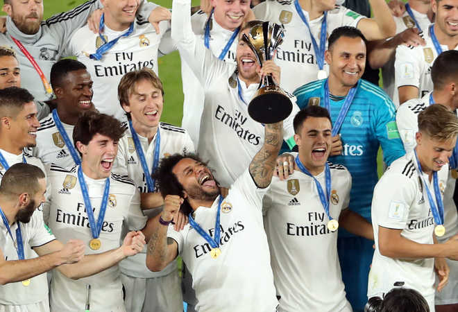 Real Madrid Win 3rd Club WC In A Row