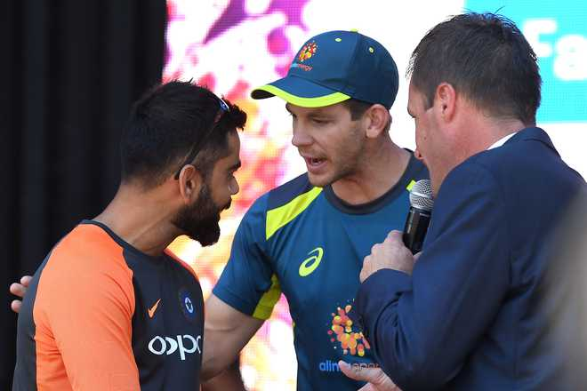 Paine Loving Heated Battle With Kohli