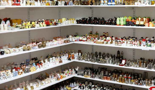 Israel's Entire Museum For Salt-Pepper Shakers