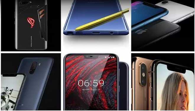 Top 15 Smartphones Of 2018