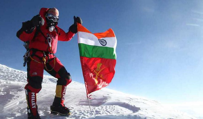 The First Indian Army Officer Who Will Climb Seven Summits