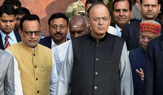 How Jaitley Used Hindi In His Budget Speech