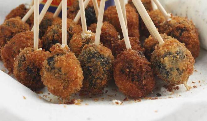 Fried & Crunchy Olives