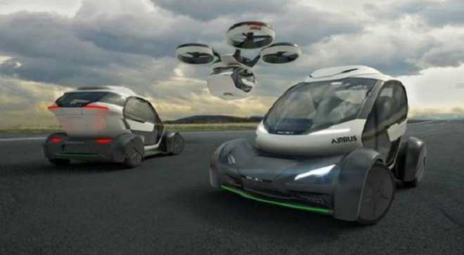 Airbus Tests Self-flying Taxi
