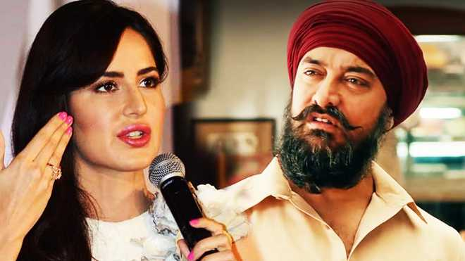 Kaif Unveils Her Look In Thugs