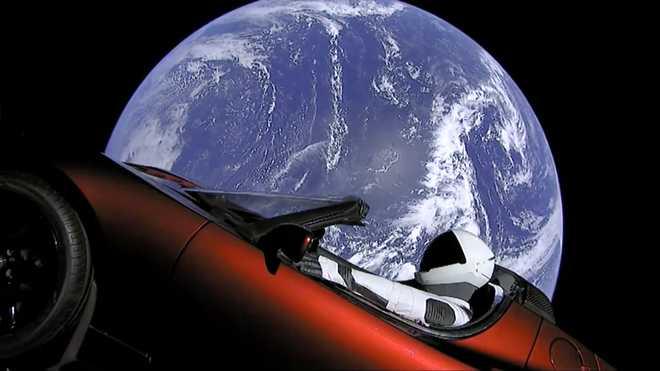 Musk Puts Sports Car In Space